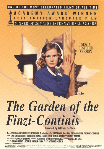 The Garden of the Finzi-Continis [Dominique Sanda 1970Ita]