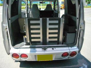 福祉車両レンタカー スロープ車 ②