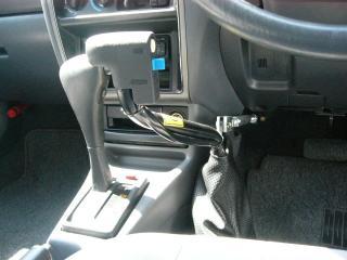 手動運転装置 レンタカー 代車 ②