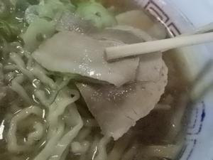 11050316まこと食堂・チャーシューメン チャーシューアップ