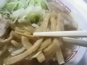 11050316まこと食堂・チャーシューメン メンマアップ