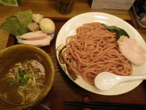 11050212蒼生・特製蒼生つけ麺 950円