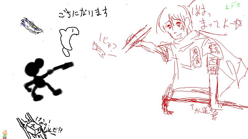 6月20日の絵茶会 5枚目
