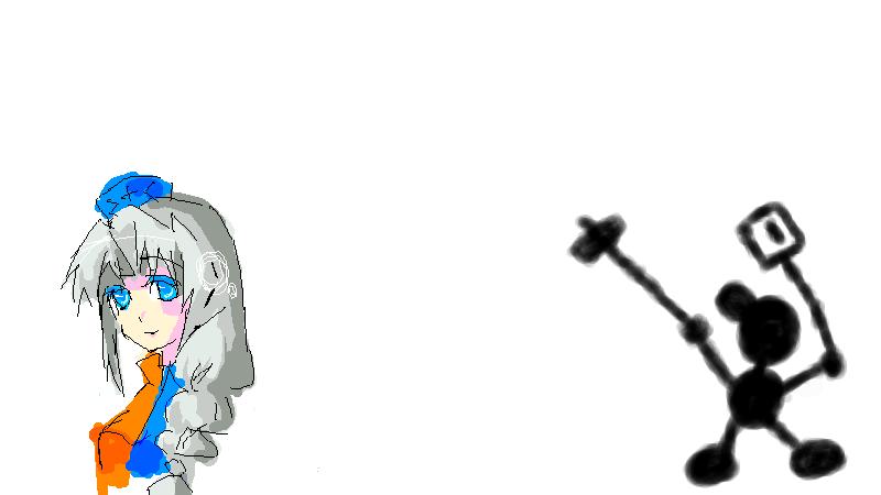 6月28日の絵茶会 1枚目