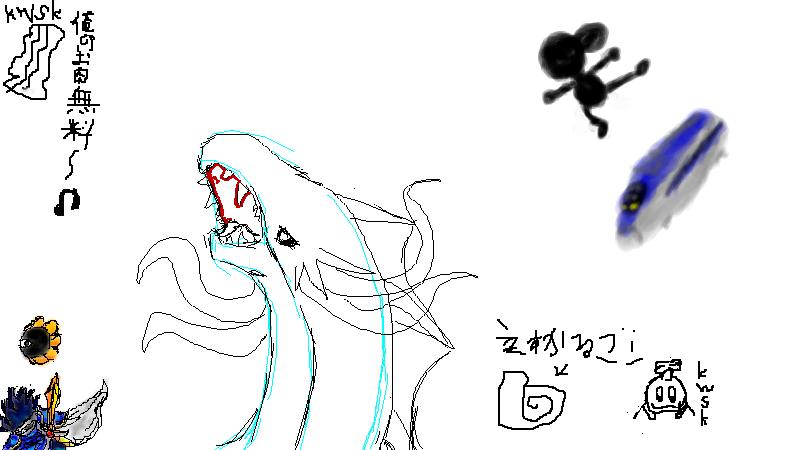 7月5日の絵茶会 1枚目