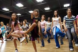 ダンスの練習!