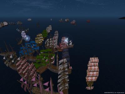 大海戦3日目:大型開始直後