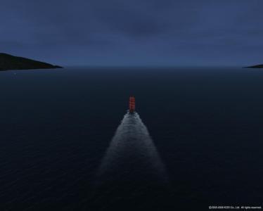 誰もいない北海