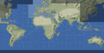 ギニア湾~南米西岸勅命