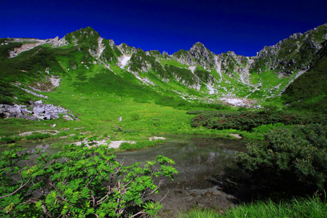 剣ヶ池と宝剣岳・3