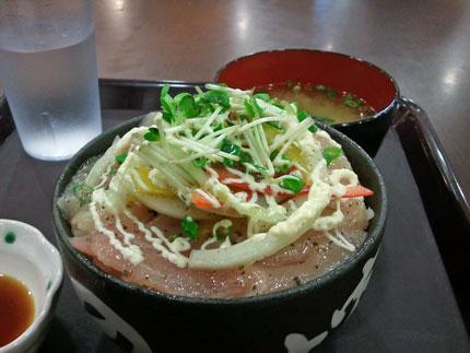 のっけ家 アピタ静岡店 マグロカルパッチョ丼