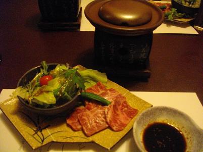 松坂牛石焼