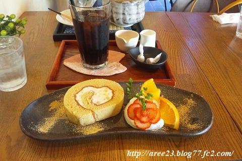 cafe 茶倉(ロールケーキ)