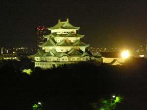 名古屋城・ライトアップ
