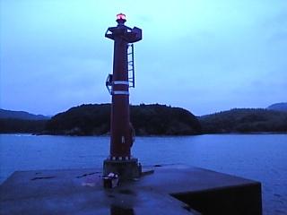 安楽島青い朝