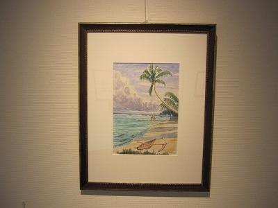 タヒチの海と空