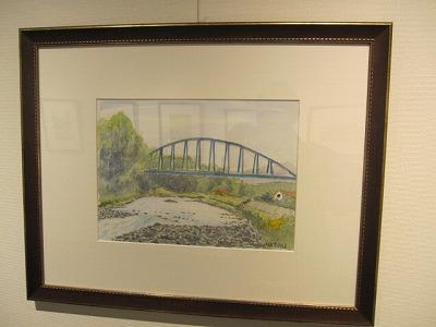 平塚、金目川の水道橋