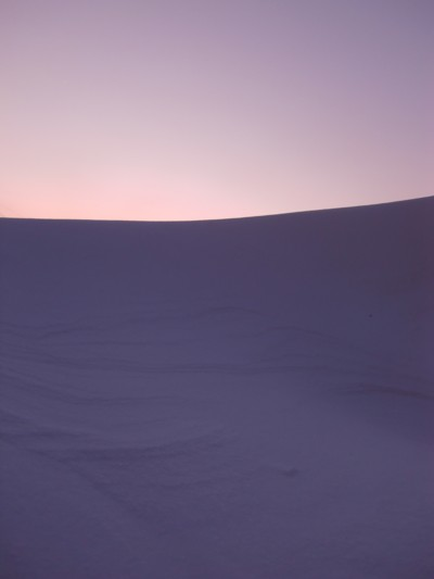 久しぶりの雪1