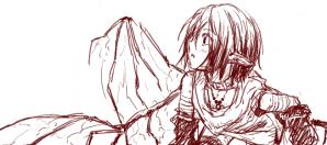 悪魔と妖精のハーフ