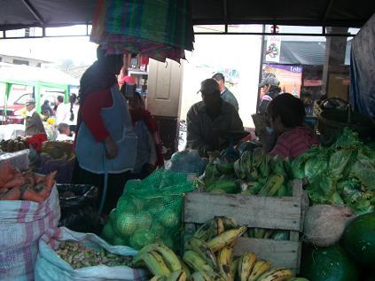 mercado en Sigsig