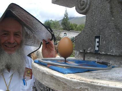 卵が・・・!