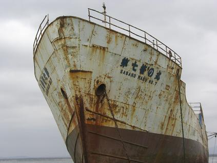 日本の船?