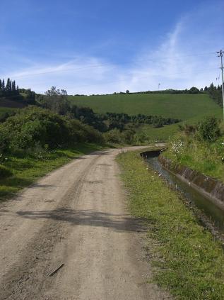 キミアの田舎道