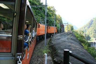 090816黒部峡谷鉄道 (20)
