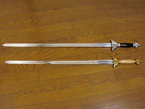 太極剣との比較