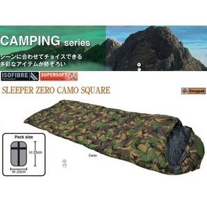 寝袋 SLEEPER ZERO CAMO SQUAER