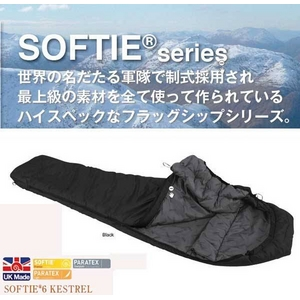 寝袋 SOFTIE 6 KESTREL Black