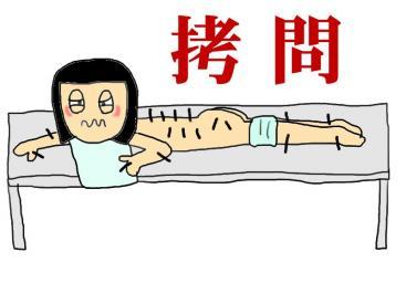 鍼治療拷問