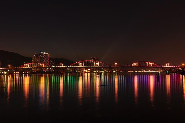 關渡水上公園夜景(5)
