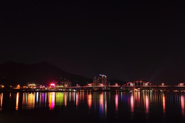 關渡水上公園夜景(3)