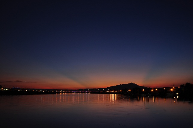 百 齡橋の夕日(6)