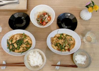 暑い日には辛いもの!麻婆豆腐 2009.7.30