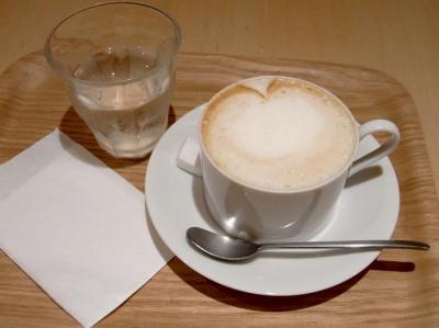 ピカソルカフェで豆乳ラテ 2009.8.5
