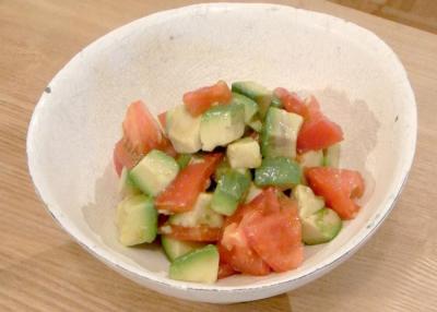 アボガド&トマトのシンプルサラダ 2009.8.20