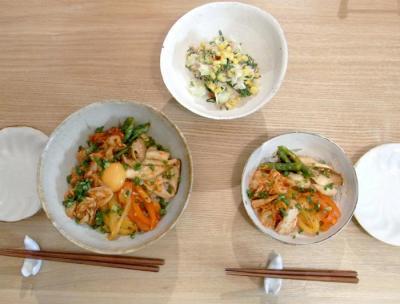 キムチ丼 2009.9.5