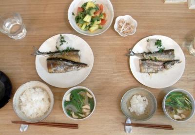 秋刀魚登場 2009.9.6