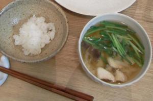 ごはんとお味噌汁 2009.9.6