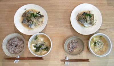 サバの味噌煮定食 2009.9.12