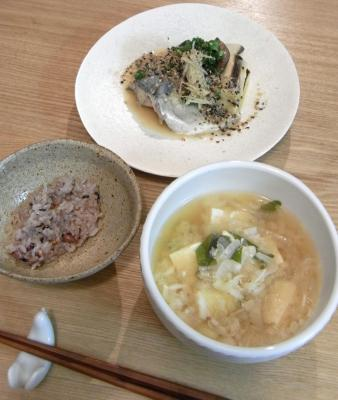 サバの味噌煮定食! 2009.9.12