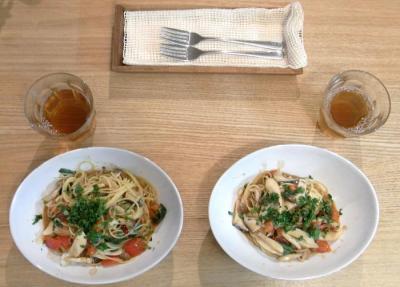 トマトとアンチョビのパスタ 2009.9,15