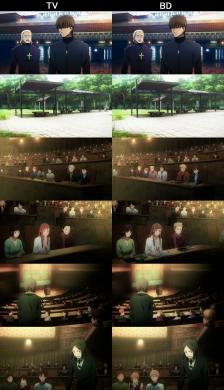 Fate Zero BD 比較その1