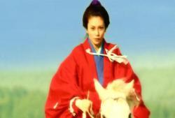 家継の急逝により、江戸城に向かう吉宗