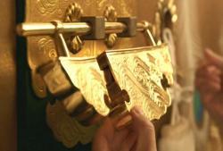大奥の鍵が開けられ
