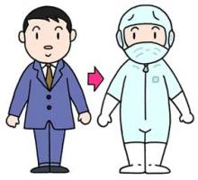 无垃圾衣服 防尘衣服 带电衣服 防尘防止 带电防止