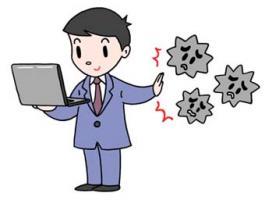 电脑病毒对策 电脑病毒感染防止 信息保护 互联网安全性 信息安全管理系统