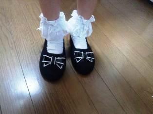 ほのかの靴2